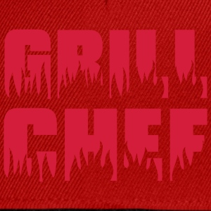 Grill chef - Grill - BBQ T-shirts - Snapbackkeps