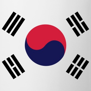 Flag of South Korea T-Shirts - Mug