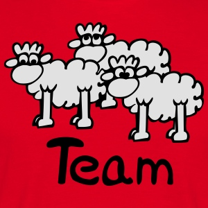 Team Sheep Tabliers - T-shirt Homme