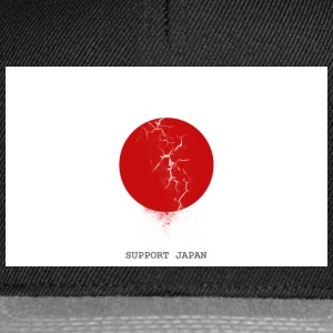 Support Japan T-shirts - Snapback cap