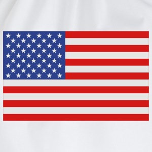 usa flag T-shirts - Gymtas