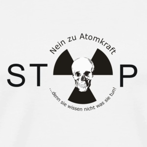 no nuclear power - Men's Premium T-Shirt