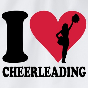 I love Cheerleading T-shirts - Sportstaske