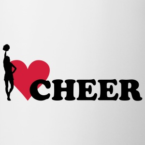 I love Cheerleading T-shirt bambini - Tazza