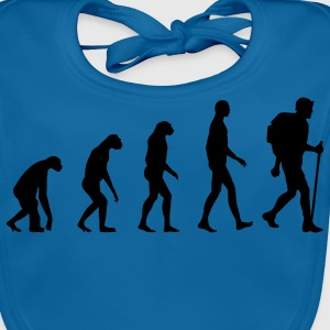 Evolution hiking Kinder shirts - Bio-slabbetje voor baby's
