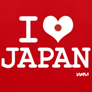 i love Japan T-shirts - Premiumtanktopp herr