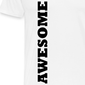 Awesome - Premium T-skjorte for menn