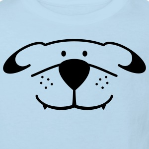 Dog Face Baby Bodysuits - Kids' Organic T-shirt