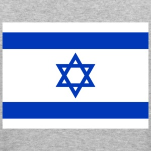 Flag Israel (dd) Tröjor - Slim Fit T-shirt herr
