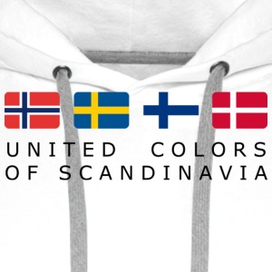 Classic T-Shirt UNITED COLORS OF SCANDINAVIA black-lettered - Männer Premium Hoodie