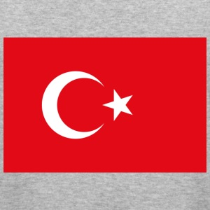 Flag Turkey (dd) Sweaters - slim fit T-shirt