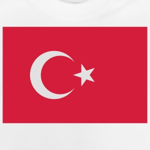 Flag Turkey (2c) Børne T-shirts - Baby T-shirt