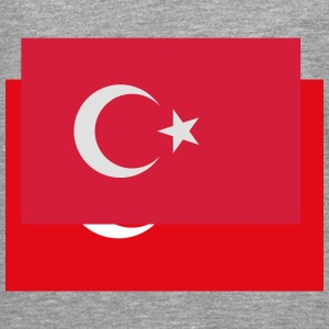 Flag Turkey (2c) Sweatshirts - T-shirt manches longues Premium Homme