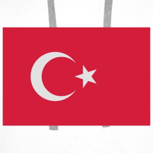 Flag Turkey (2c) Bags  - Men's Premium Hoodie