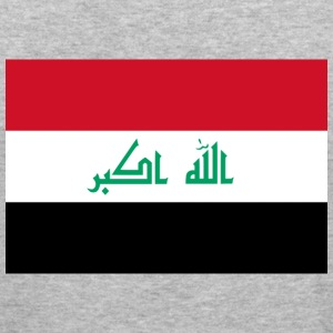 Flag Iraq (dd) Pullover - Männer Slim Fit T-Shirt