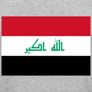 Flag Iraq (dd) Tröjor - Slim Fit T-shirt herr