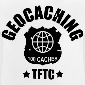 Geocaching Award 100 - 1color - Baby-T-skjorte
