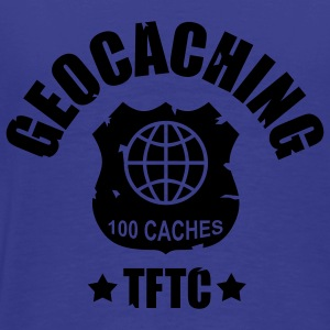 Royal blue geocaching - 100 caches - TFTC / 1 color Kids' Tops - Men's Premium T-Shirt