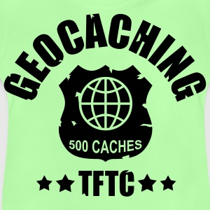 Geocaching Award 500 - 1color - Baby-T-skjorte