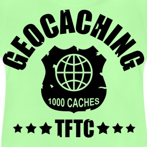 Geocaching Award 1000 - glow in the dark  - T-shirt Bébé
