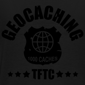 Geocaching Award 1000 - 1color - back - T-shirt Premium Homme