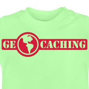 Geocaching -  1color - Baby-T-skjorte