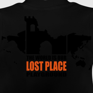 Lost Place -  2colors - back - Baby-T-skjorte