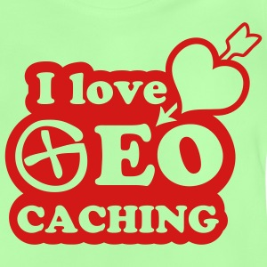 I love geocaching - 1color - T-shirt Bébé