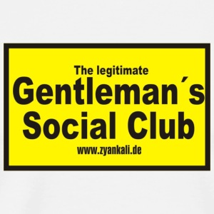 The legitimate gentleman´s - Männer Premium T-Shirt