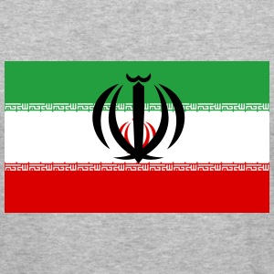 Flag Iran (dd) Tröjor - Slim Fit T-shirt herr
