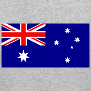 Flag Australia (dd) Gensere - Slim Fit T-skjorte for menn