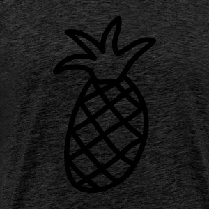 obst__ananas_1c Sweaters - Mannen Premium T-shirt