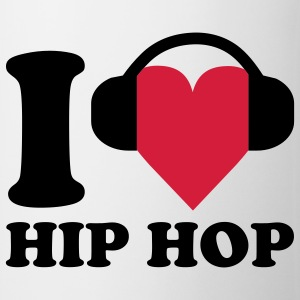 I love Music - Hip Hop T-shirts - Kop/krus