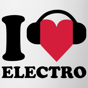 I love Music - Electro T-Shirts - Mug