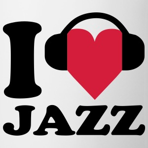 I love Music - Jazz Barneskjorter - Kopp
