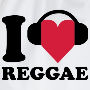I love Music - Reggae Baby body - Gymtas