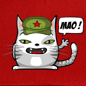 Communist cat - Snapback Cap