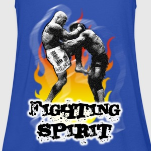 Fighting spirit - Vrouwen tank top van Bella