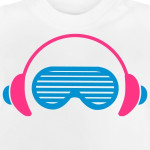 Shutter Shades and Headphones Kinder Pullover - Baby T-Shirt