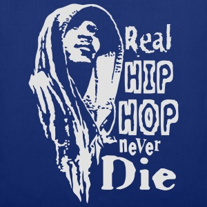 Real hip hop white - Stoffbeutel