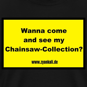 wanna_come_and_see Schürzen - Männer Premium T-Shirt