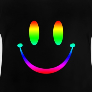 Rainbow Smiley 3 Kinder T-Shirts - Baby T-Shirt