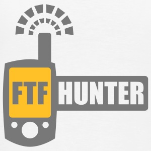 FTFHunter - 2colors - back - Herre premium T-shirt