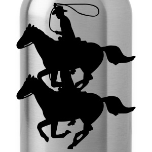 Cowboy on a Horse Coats & Jackets - Water Bottle