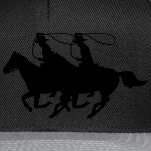 Cowboy on a Horse Coats & Jackets - Snapback Cap
