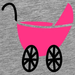 Kinderwagen (c) Accessories - Herre premium T-shirt