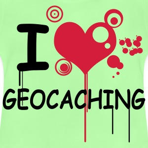 I love geocaching - 2colors - Baby T-Shirt