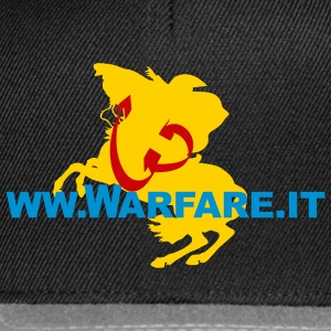 Logo del sito www.warfare.it - Snapback Cap