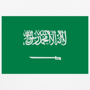 Flag Saudi Arabia (2c) Bags  - Men's Premium T-Shirt