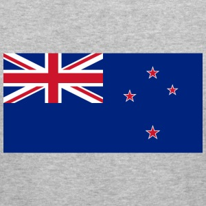 Flag New Zealand (dd) Gensere - Slim Fit T-skjorte for menn